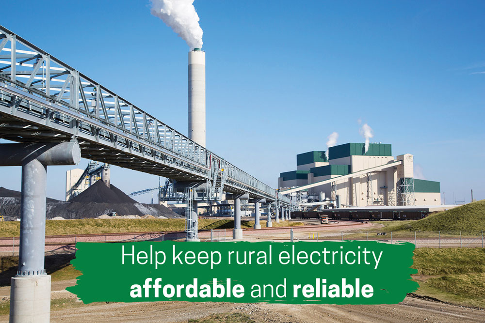 Help keep rural electricity affordable and reliable